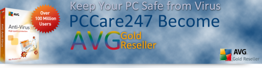 PCCare247 Becomes Gold Reseller of AVG Antivirus