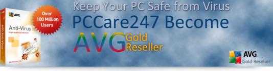 PCCare247 Becomes Gold Reseller of AVG Antivirus